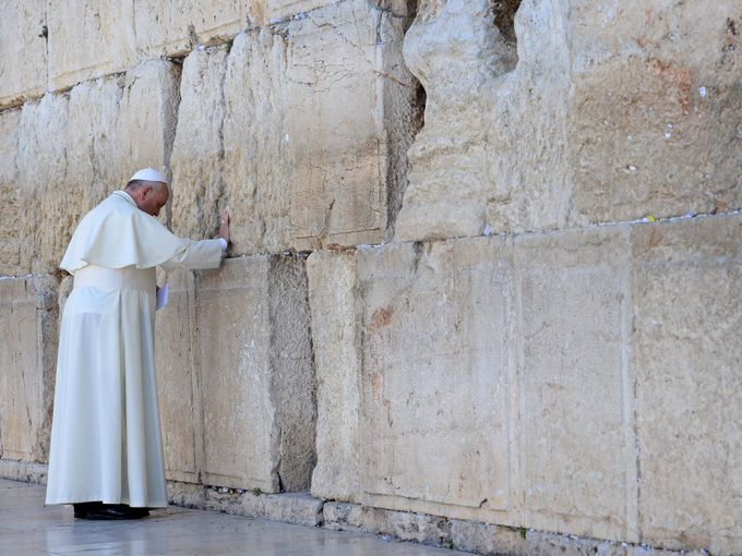 Historic Declaration From Pope Francis, Anti-Zionism=Antisemitism