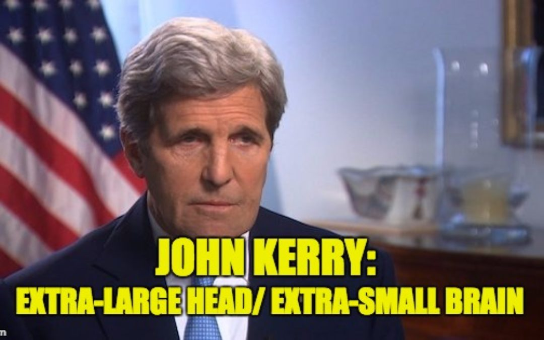 Putting The 'F' In Feckless-John Kerry Praises Russia & Iran