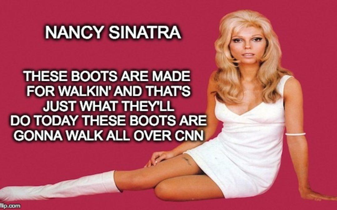 CNN Lies About Nancy Sinatra and Donald Trump