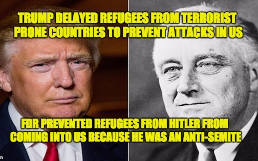 Trump's Ban of Refugees from Terror-Prone Countries Not Comparable to Holocaust