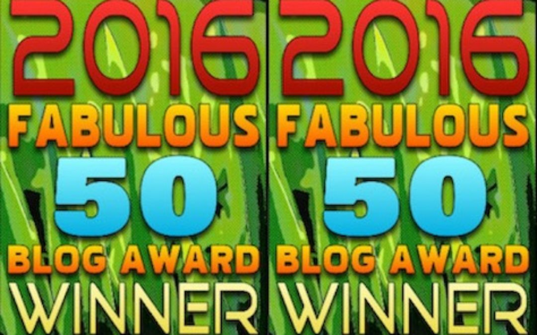 WOOT! The Lid Named As a Fabulous 50 Blog For 2016