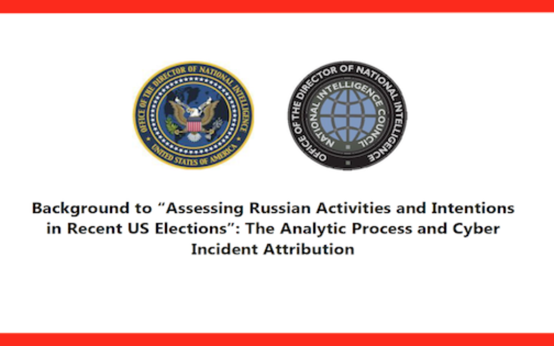 Russian Hacking Report Embedded & Analyzed (Their Conclusions Were Based On Nothing)