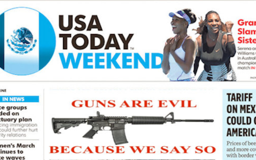 USA Today Distorts Truth To Make Hero Gun Owner Look Bad