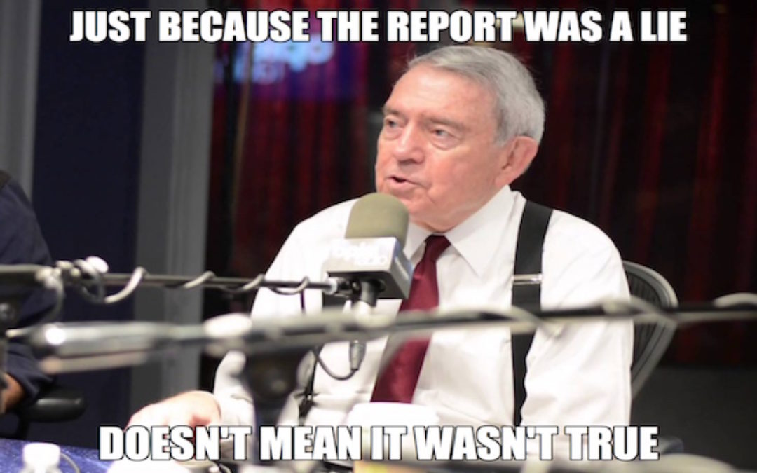 Sign of The Apocalypse? Dan Rather Teaching Course In Finding the Truth in the News