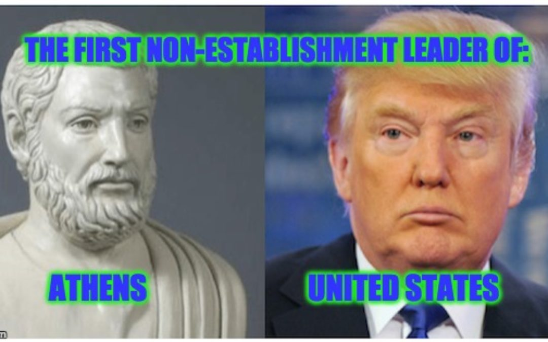 President Trump; A Modern Day Themistocles (And That's A GOOD Thing)