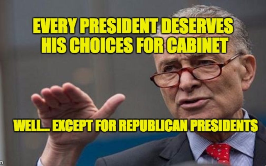 FLASHBACK: In 2013 Sen. Schumer Said President 'Deserves His Choices' For Cabinet
