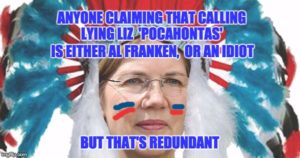 Al Franken Says Pocahontas is racist