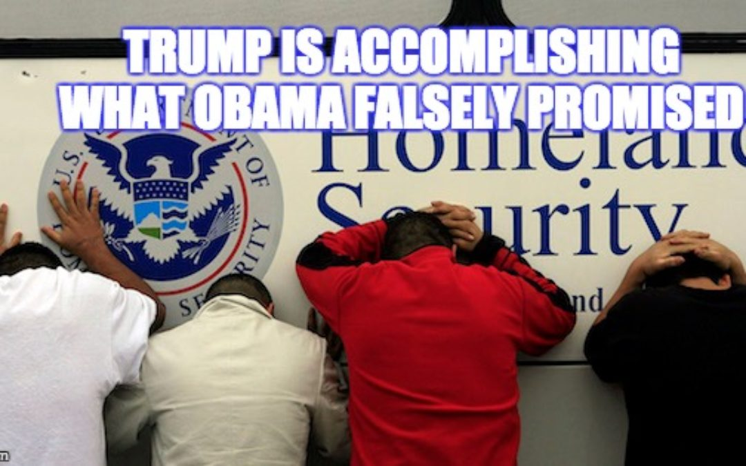 Liberals Freaking Over Trump Deportation of Criminal Illegals (Like Obama Said He Would)