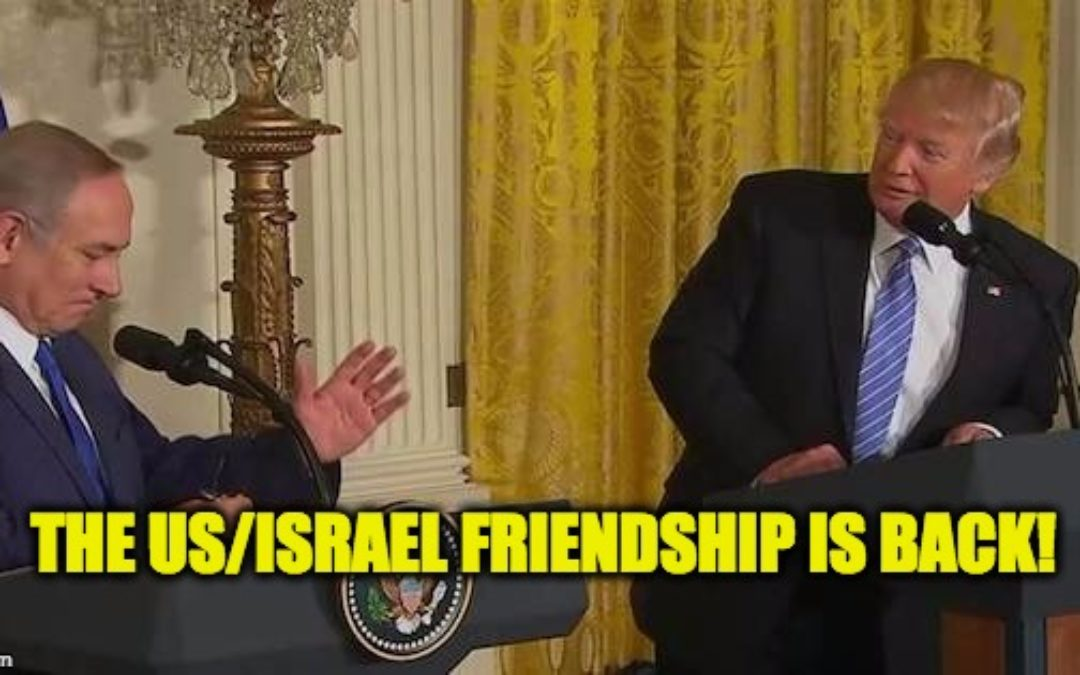 The Trump/Bibi Presser, The US/Israel Friendship is BACK!