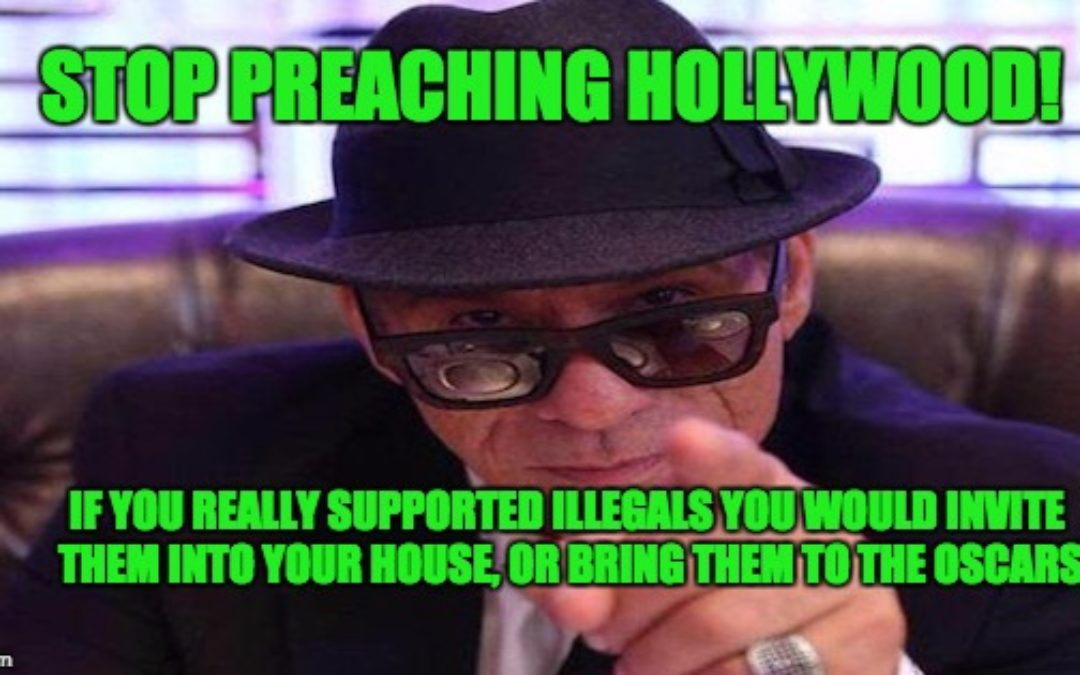 Conservative Actor Asks Why Doesn't Liberal Hollywood Invite Illegals & Refugees into their Homes