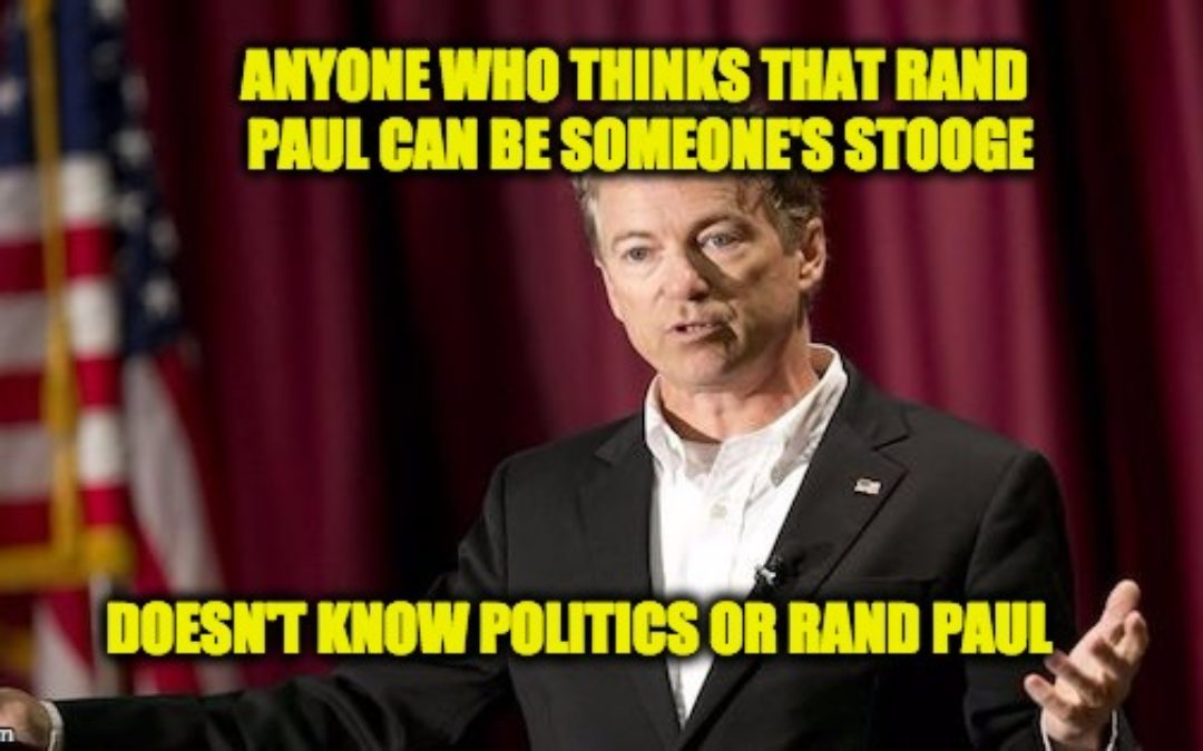 Is Rand Paul Pres. Trump's Most Loyal Stooge? (NY Mag Says So)