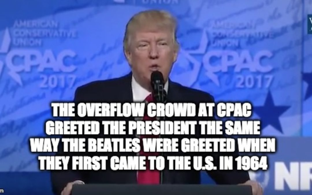 Trump's CPAC Speech: Crowd Goes Nuts! TBS And CNN Go Fake