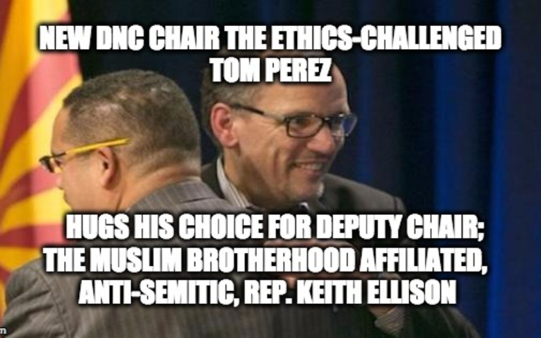 New DNC Chair Tom Perez Has Problems W/ Email, Ethics, Racism and Perjury