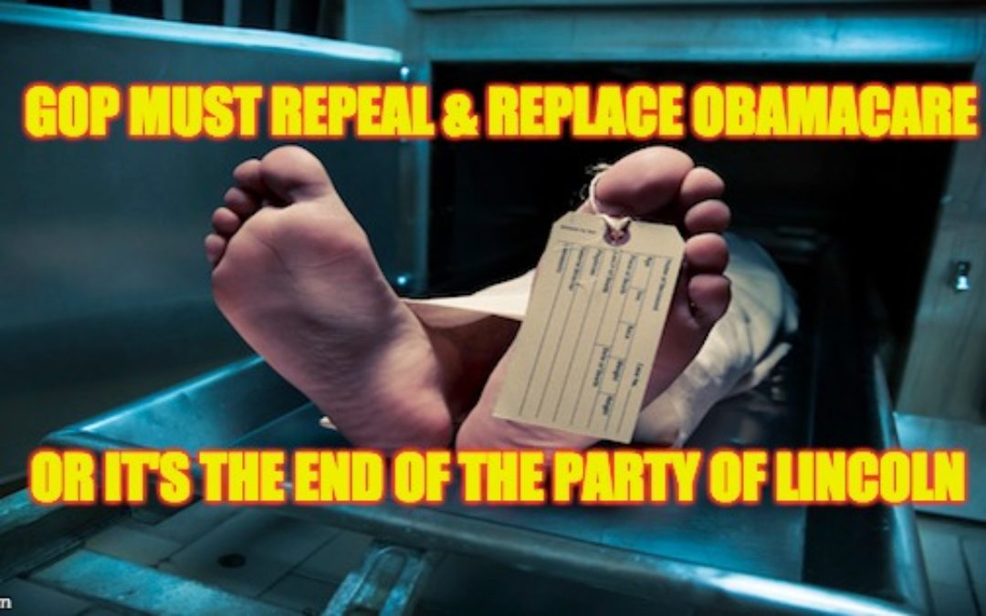 Congressional GOP Will Destroy Both Trump & Their Party If They Don't Repeal/Replace Obamacare