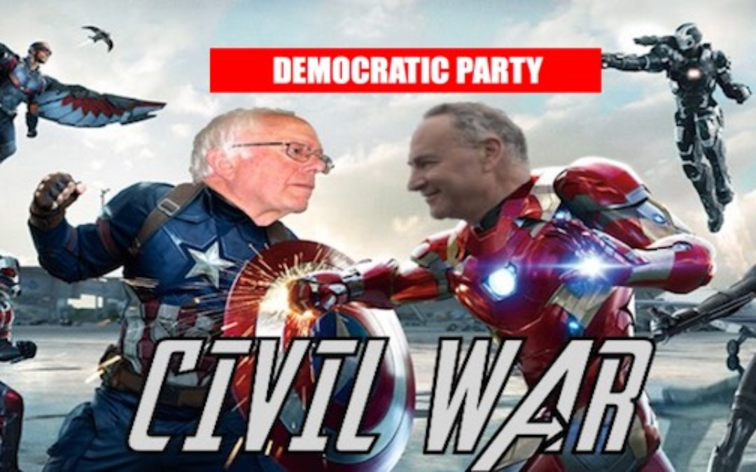 Here Comes The Democratic Party Civil War