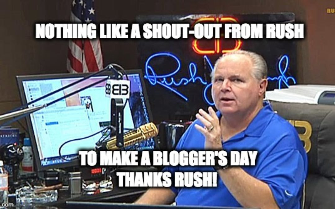 Thank You Rush Limbaugh!