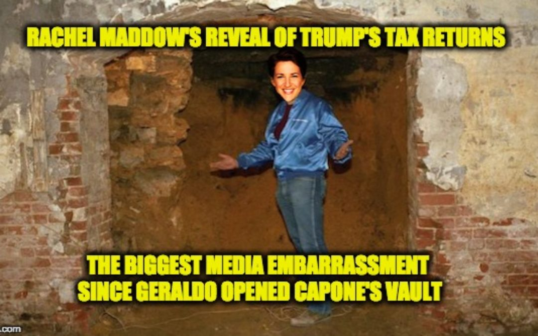 Everyone's Laughing At Rachel Maddow (Except Geraldo Rivera)