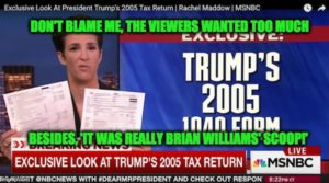 Maddow Tax Scoop