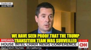 Rep. Nunes Confirms Obama Admin. DID Monitor Team Trump Communications (video)