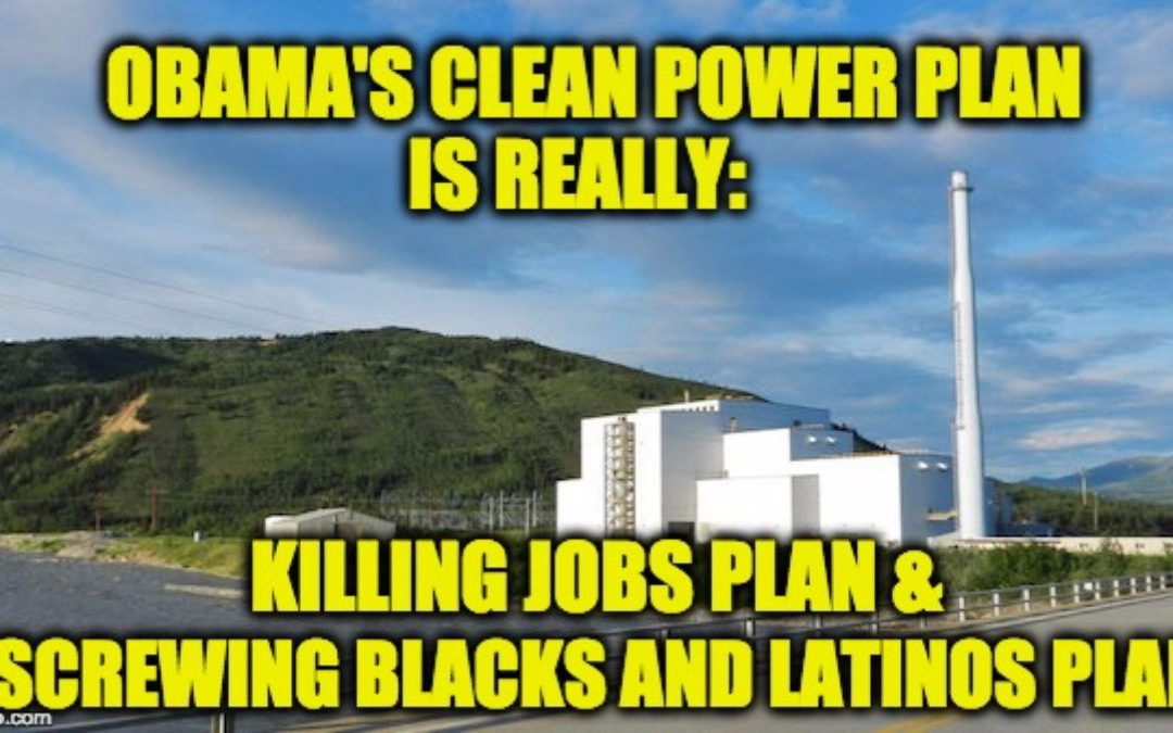 Trump's Order Undoing Clean Power Plan Isn't Anti-Environment: It's Pro Jobs and Pro African/Hispanic-American