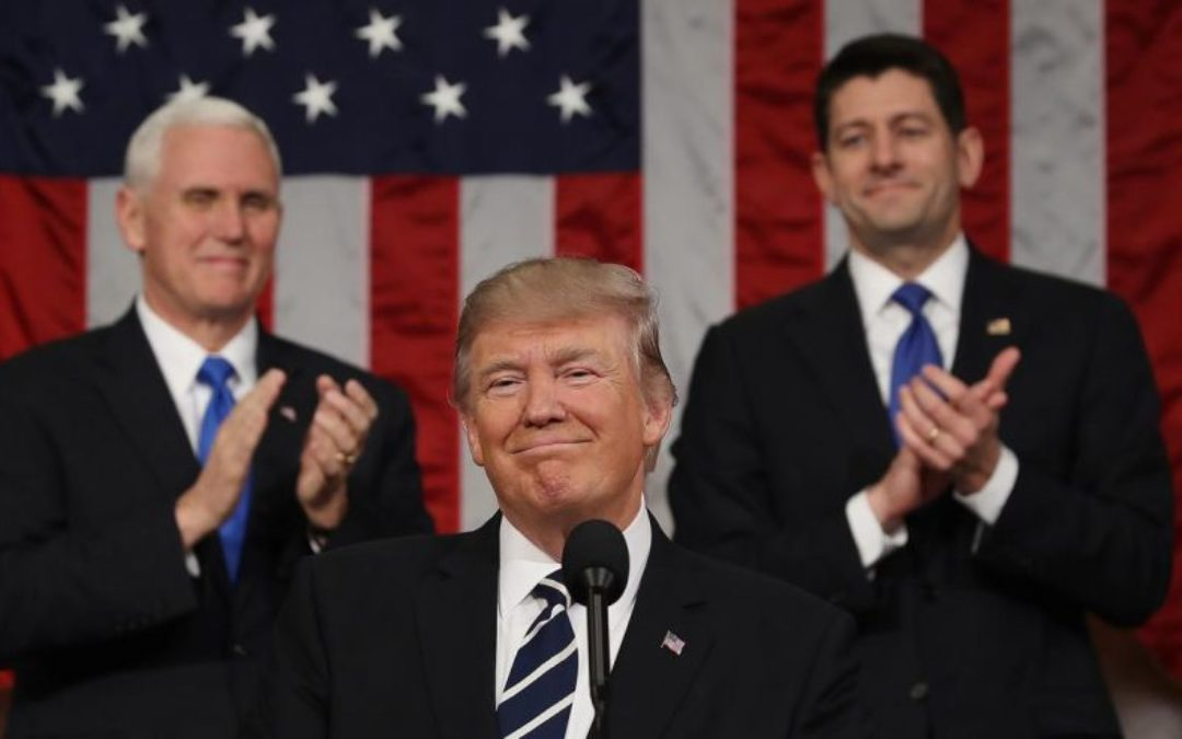 President Trump Delivers a Spectacular Speech, Dems Too Partisan To Care