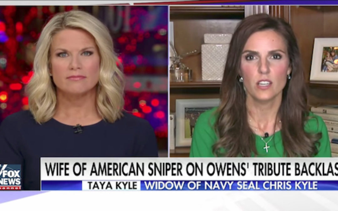 Seal Widow Taya Kyle 'Michael Moore Comments About Carryn Owens Makes Me Sick'