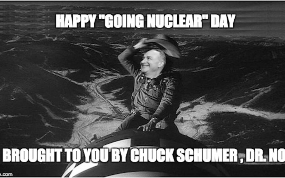 "Happy ""Going Nuclear"" Day: The Dems Insist on Gorsuch Filibuster Mendacity"