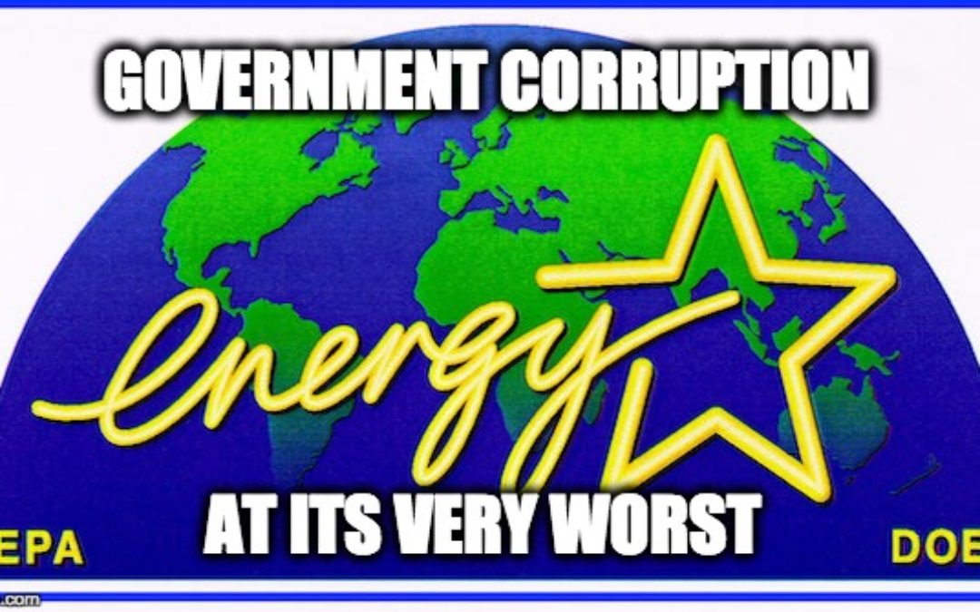 Why Is MSM Covering Up Trump's Closure Of Corrupt ENERGY STAR?
