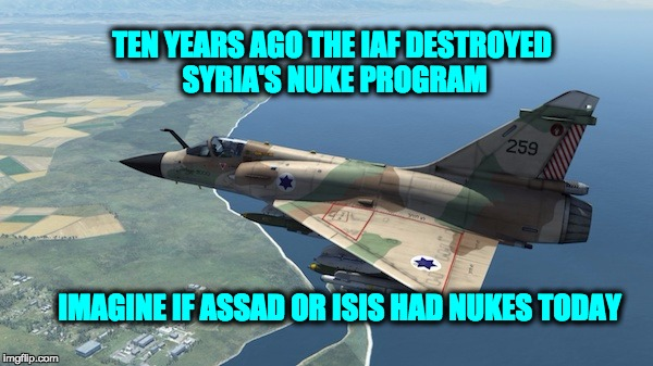 IAF Attacks Syrian Nuclear Weapons