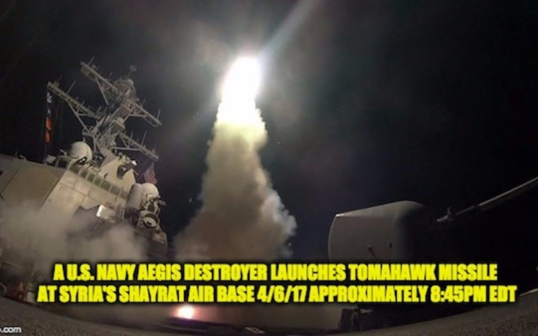 U.S.N. Cmdr. (Ret.) Deciphers U.S. Tomahawk Cruise Missile Attack On Syrian Airbase