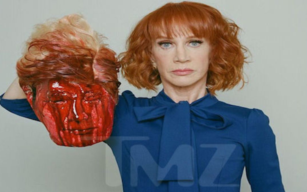 "UPDATED With Apology: Kathy Griffin Creates Offensive Trump ""Beheading"" Picture"