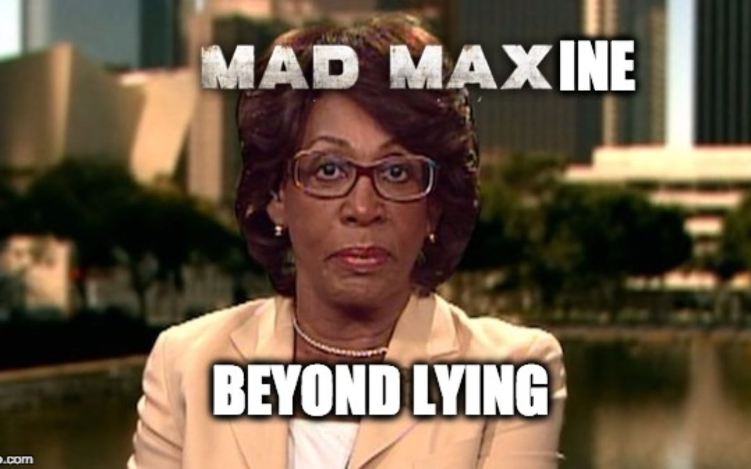 Maxine Waters, Who Never Called For Trump's Impeachment, Brings Up Impeachment Again