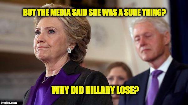 REAL Reason Hillary Lost
