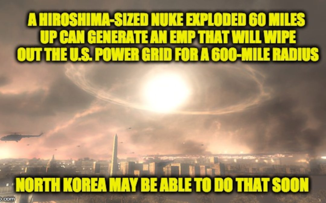 N.Korea Threat? Trump Orders Feds To Make Preparations In Case Of Attack On Electric Grid