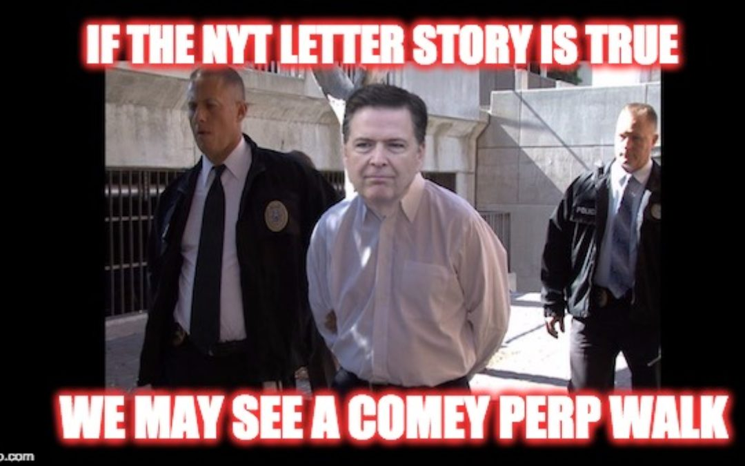 If Comey Letter Story Is True, Comey Committed A Crime