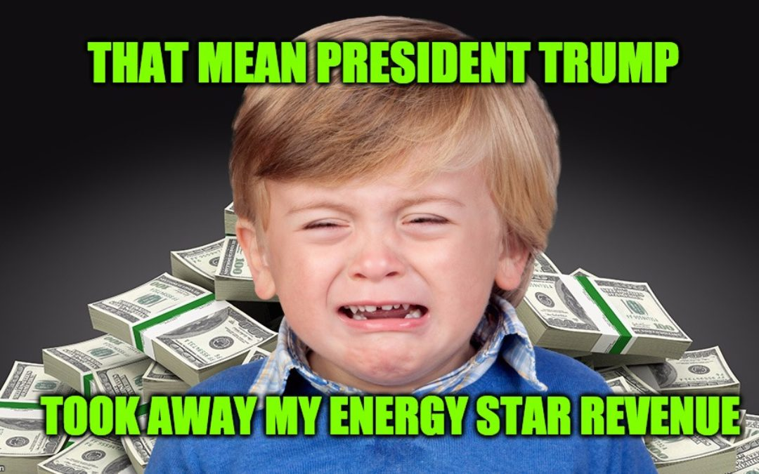 ENERGY STAR Repeal To Cause Global Depression For Progressive Media