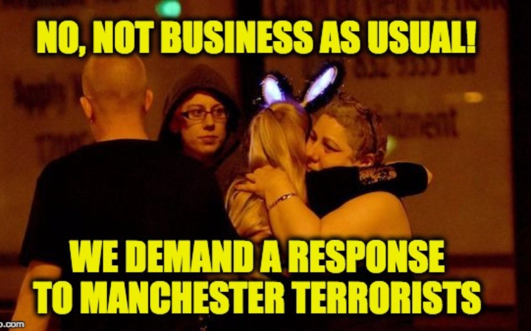 """British Reporter BLASTS Government Acceptance of Manchester Attack as """"Buisness as Usual"""""""
