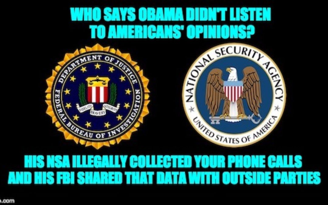 Obama Administration Spied on Americans-Shared The Data W/ Outside Groups