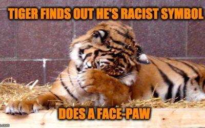 CRAZY!  Now A Tiger Is A Racist Mascot