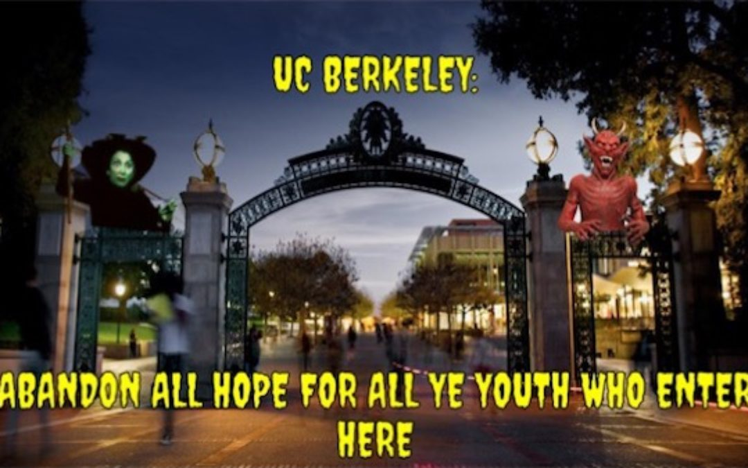 UC Berkeley Snowflake: Police Can't Protect Free Speech, They Trigger Minorities