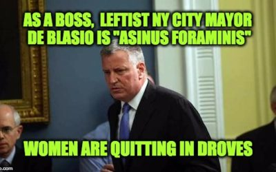 NYC Mayor De Blasio's Office A Hostile Working Environment For Women