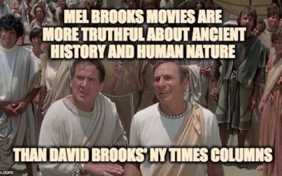 David Brooks Proves He's Ignorant About Ancient Greece, Human Nature, & Foreign Policy