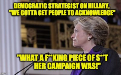 "Democratic Strategist's Rationale For Hillary Loss: Her Campaign Was A ""F**king Piece Of Sh*t"""