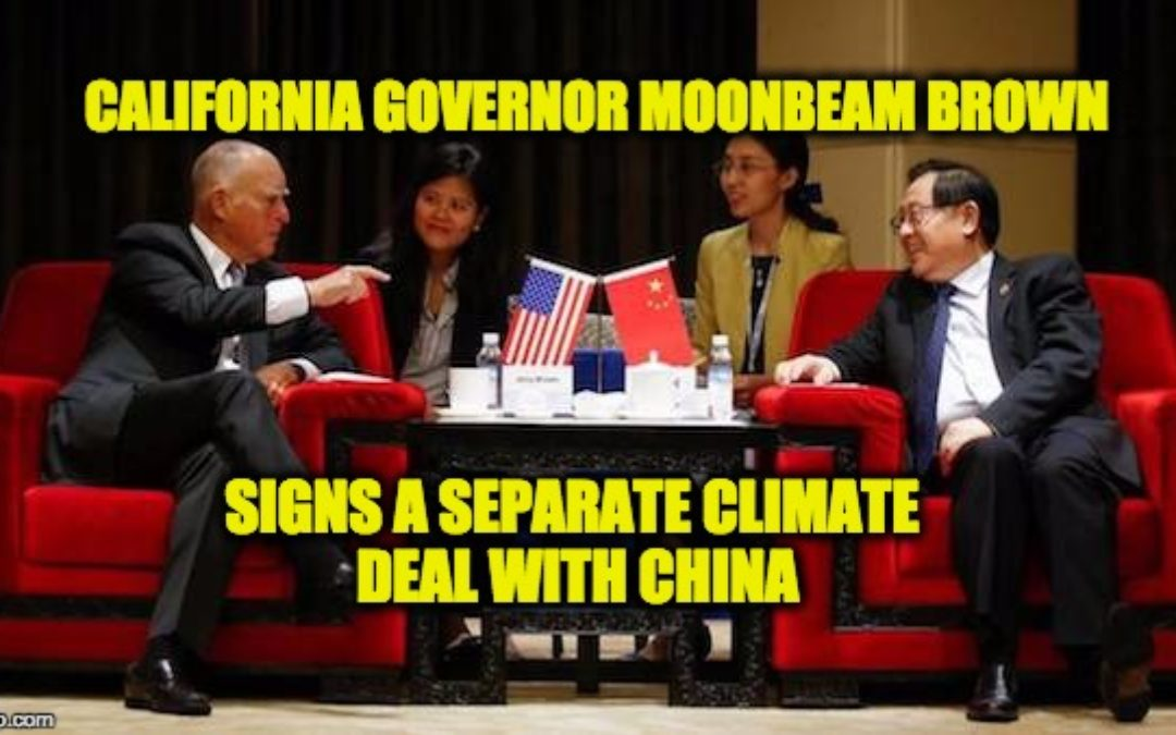 Is Old Green Science Behind The New Blue State/ China Alliances?