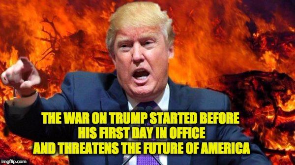 war on trump