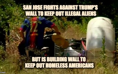 San Jose Fighting Against Trump's Wall, But Is Building Wall Of Their Own To Keep Out—AMERICANS
