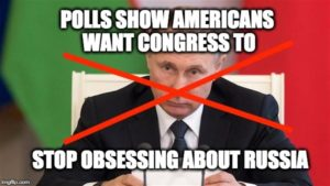 Polls Report Americans' Have Message to Congress - Enough With Russia!