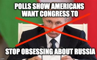 Polls Report Americans' Have Message For Congress-ENOUGH WITH RUSSIA!!