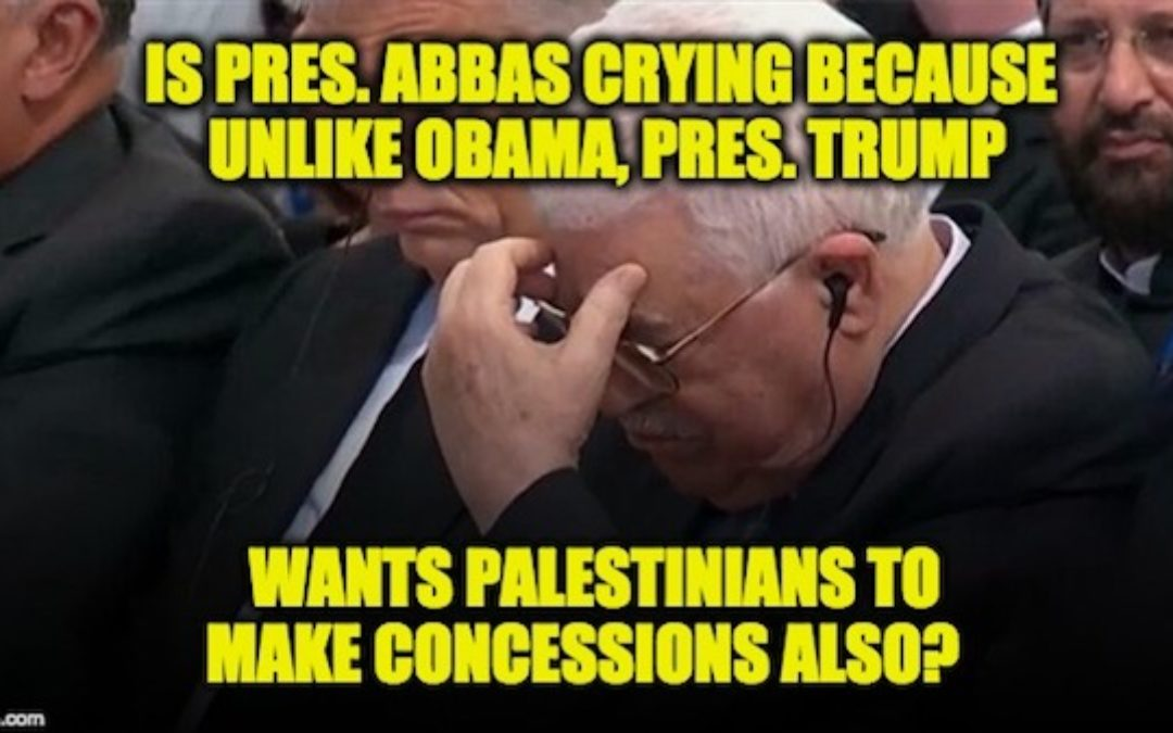 Palestinian President Abbas Is Upset Kushner Wanted Concessions From Him As Well