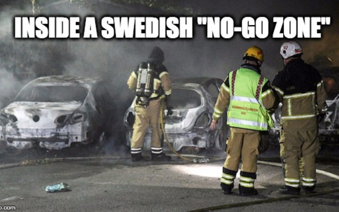 What's Happening in Sweden from Muslim Refugee Surge is Horrific